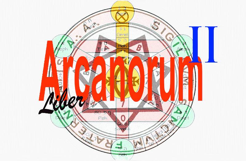 Liber Arcanorum Part II - BethSheba Ashe