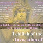 Tehillah of the Woman – (Invocation to Inanna).